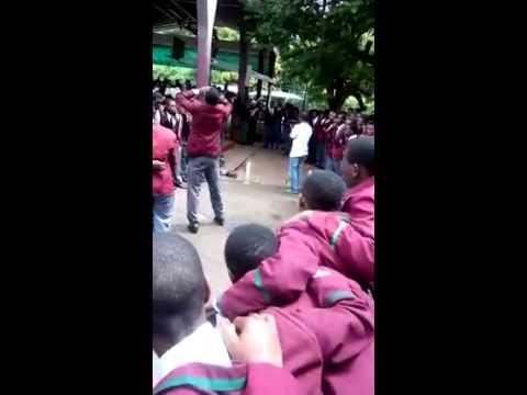 Prince Edward School Harare Zimbabwe War cry