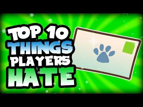 [Animal Jam] Top 10 Things Players Hate