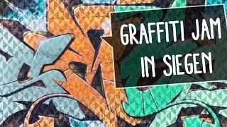 Graffiti Jam   MILITARY BASE in Siegen