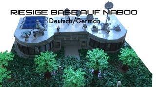 LEGO Star Wars The Clone Wars Deutsch Clone Base auf Naboo (MOC)
