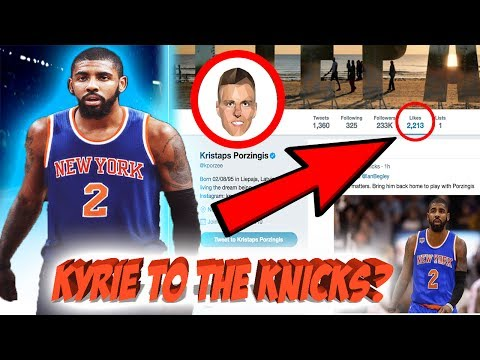 Kyrie Irving TRADE to the Knicks? Knicks willing to TRADE Carmelo and future first rounders!
