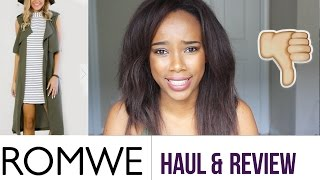 Romwe FAIL | Review, Haul & Try On 2016