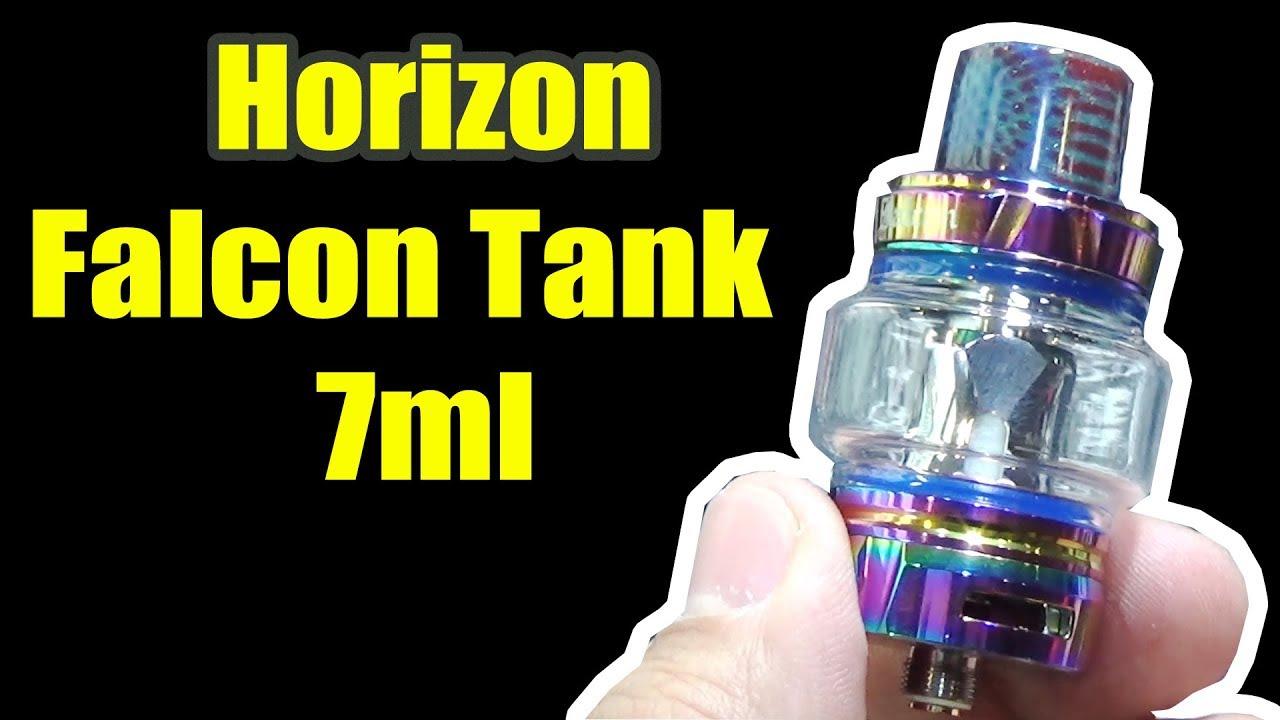 How to change the 7ml glass tube from 5ml's of Horizon Falcon Tank |  Elegomall com