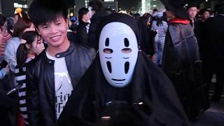 Lễ hội halloween tại Nhật Bản P1| Denki Vlog | Cuộc Sống ở Nhật