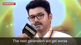 actor vijays touching speech on farmers official hd video bgm 2017