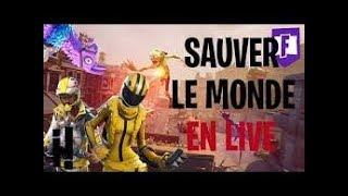 🔴LIVE FORTNITE SAUVER LE MONDE: GAME ABONNES AU DEBUT DU LIVE (50gold pour jouer avec moi)