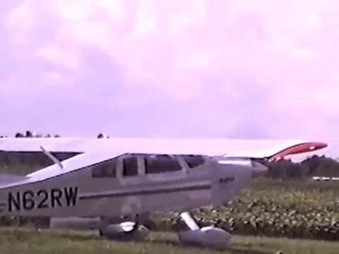 Ray Ward's BD4 SS maiden flight