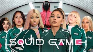 Download Mp3 Celebrities in SQUID GAME