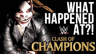 What Happened At WWE Clash Of Champions 2019?
