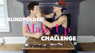 Blindfolded Make Up Challenge