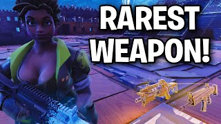 OMG The RAREST WEAPON EVER!!! 😱😳 (Scammer Get Scammed) Fortnite Save The World