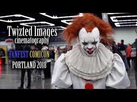 Twizted Images @ FanFest ComiCon - Portland 2018