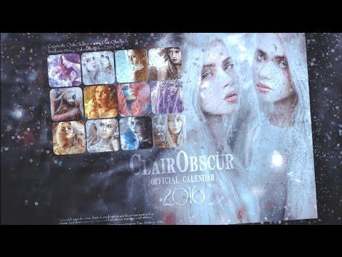 official-calendar-clairobscur-2016---fantasy-art