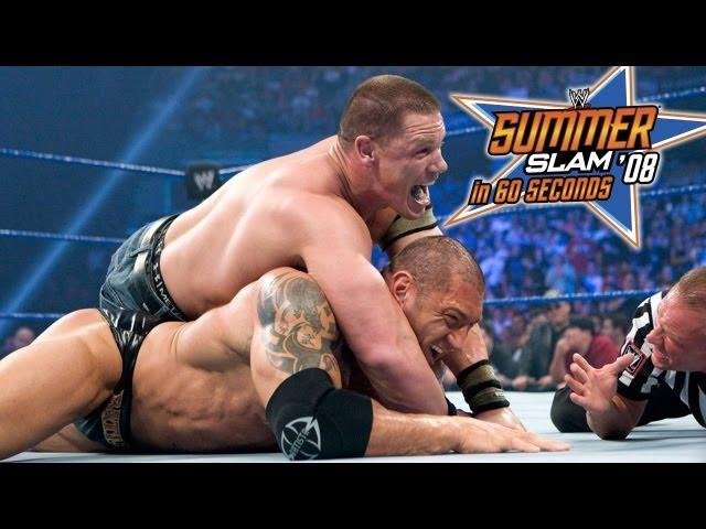 SummerSlam in 60 Seconds: SummerSlam 2008