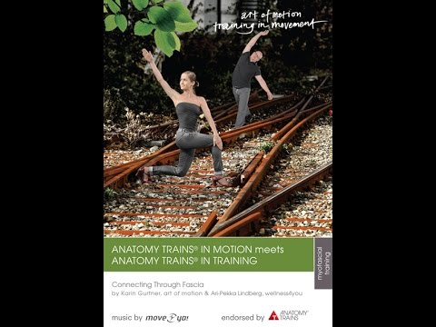 Dvd Trailer Anatomy Trains In Motion Meets Anatomy Trains In