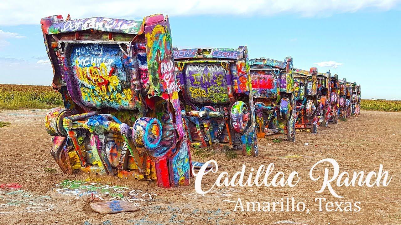Cadillac Ranch Fun On Route 66 Amarillo Texas Youtube