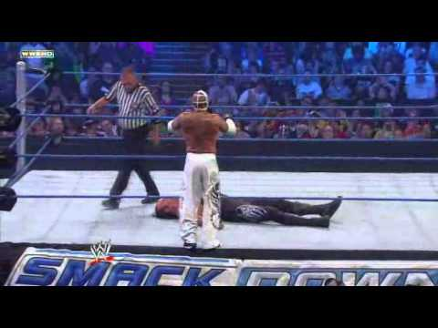 WWE SmackDown The Undertaker vs Rey Mysterio World ...