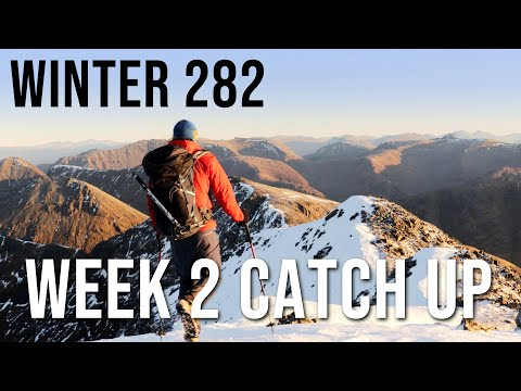 Kevin Woods on the Winter Munros, Week 2