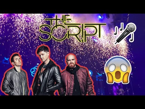 FREEDOM CHILD TOUR, THE SCRIPT    Manchester Arena 03/02/18