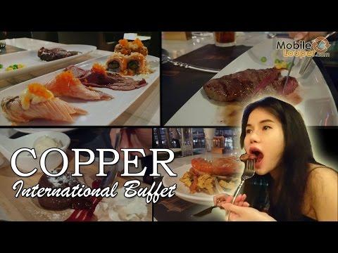 จัดเต็มบุฟเฟ่ต์อาหารนานาชาติร้าน COPPER (สเต็กวากิวคือสุดยอด)