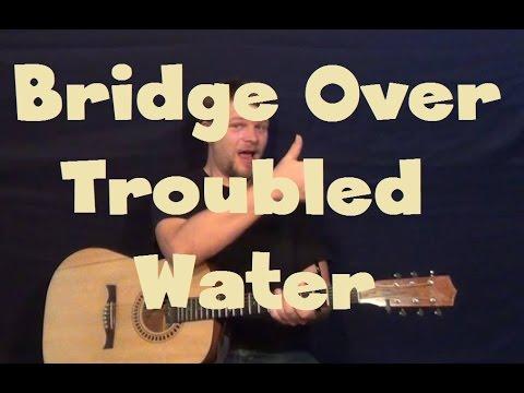 Bridge Over Troubled Water (Tessanne Chin/Simon&Garfunkel) Easy Guitar How to Play Tutorial