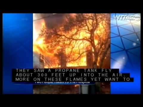 Roaring house fire engulfs Carnegie home