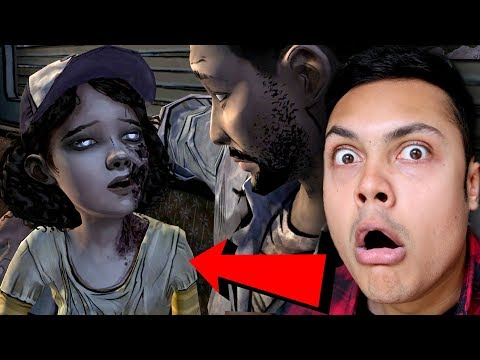 CLEMENTINE TURNED INTO A ZOMBIE (The Walking Dead) [Season 1 Episode 3]