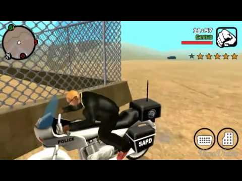 Gta san andreas android:messing with a...