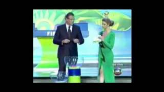 RESULTADO SORTEO ELIMINATORIAS BRASIL  2014. Draw of the Cup Brazil 2014