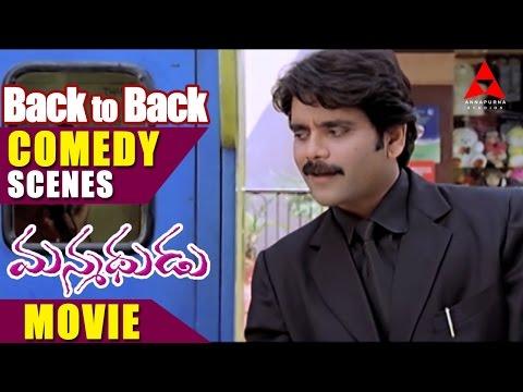Manmadhudu Movie Back to Back Comedy Scenes Part 4 - Nagarjuna
