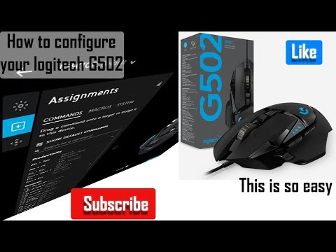 How To Configure Your Logitech G502 Using The G Hub Software