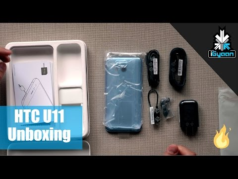 Unboxing the HTC U 11 Amazing Silver