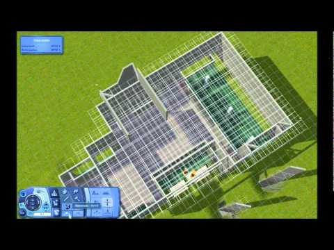 The sims 3 house building modern caf part 1 youtube for Modern house 8 part 3