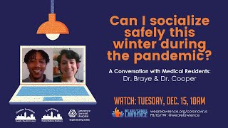 Can I socialize safely this winter during the pandemic?