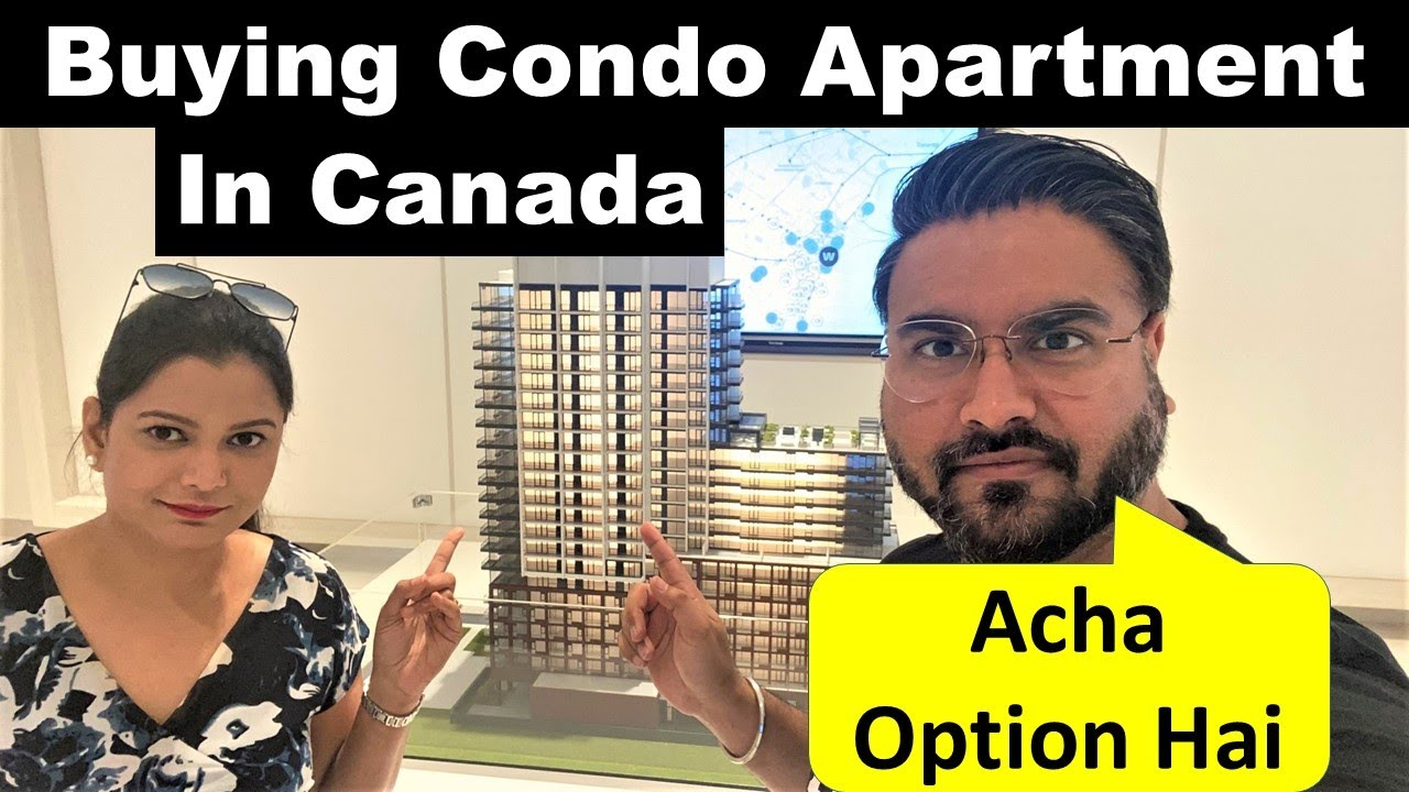 Buying Condo Apartment in Canada | Condo House Tour | Canada Couple Vlogs