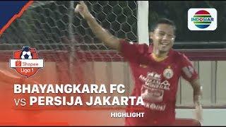 Highlights - Bhayangkara FC 2 vs 2 Persija Jakarta | Shopee Liga 1 2020