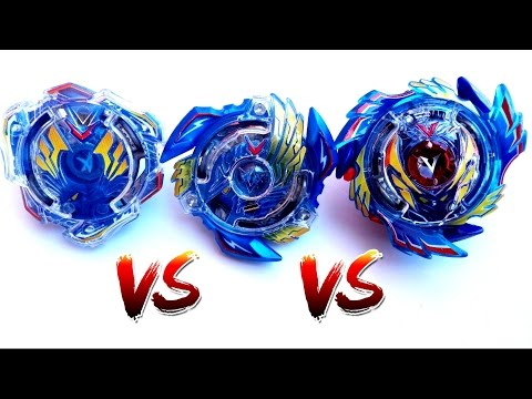 Beyblade Burst Evolution Battle: from Valkyrie to Victory Valkyrie to God Valkyrie thumbnail
