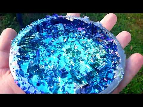 Making Bismuth Crystals