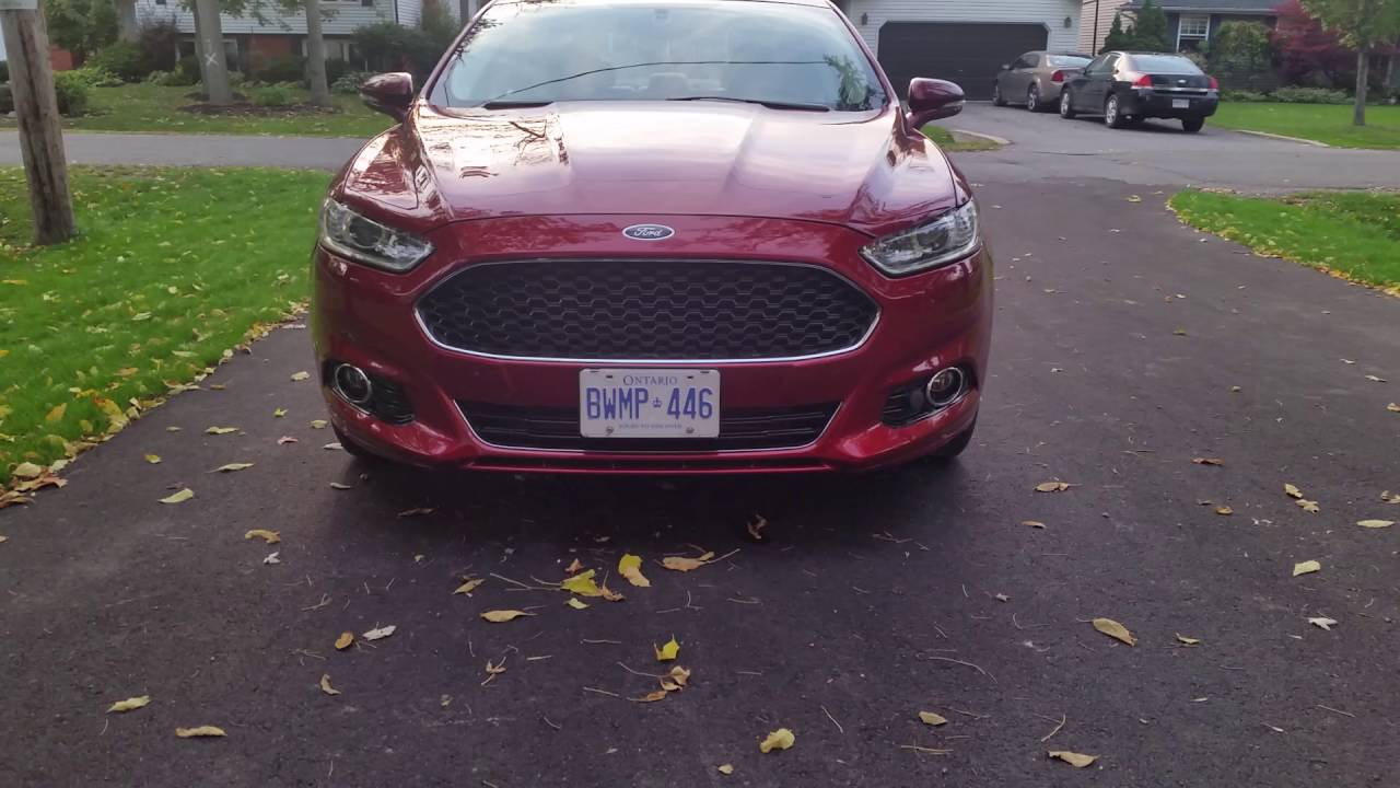 Ford Fusion Front Led Turn Signals