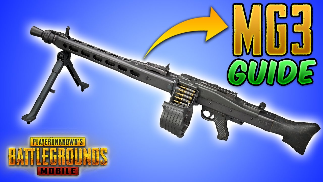 New MG3 Light Machine Gun (LMG) in PUBG MOBILE & BGMI Guide/Tutorial/Review (Tips and Tricks)