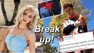 Loren Gray & Ian Jeffrey Break Up! Video