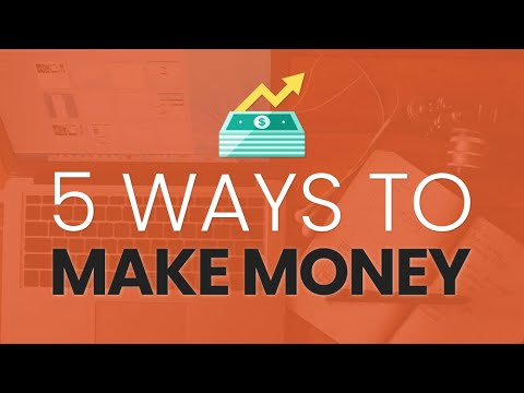 How to Make Money with WordPress: 5 Ways to Earn Cash from Your Website Skills