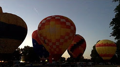 Hot air balloon Night Glow - Northwest Arts & Air Festival Albany Oregon 2017