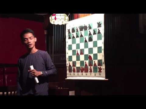 GM Oliver Barbosa presents to the BAL Chess