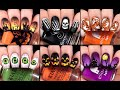 HALLOWEEN NAIL ART Compilation I Halloween Nail Art Design I Easy Tutorials