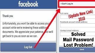 New Process Solved | Fake Name Locked Facebook Unfortunately Logout Problem | Without Documents 2018