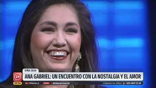 Ana Gabriel: Nostalgia y romanticismo para la Quinta Vergara el próximo martes