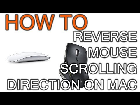 How to Reverse Scrolling Direction on Mac Mouse - YouTube