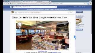 How To Embed Google Business View or Street View In a Facebook Tab