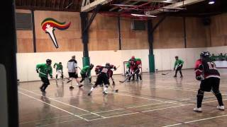 B.C. Entourage vs. Pacific Jaguars - Period 2 + OT (04/17/11) Ball Hockey Videos